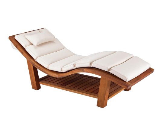 Teak Outdoor Wave Lounger_asset 1